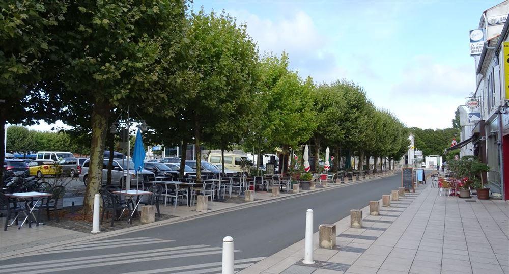 Le centre de Château-d'Oléron
