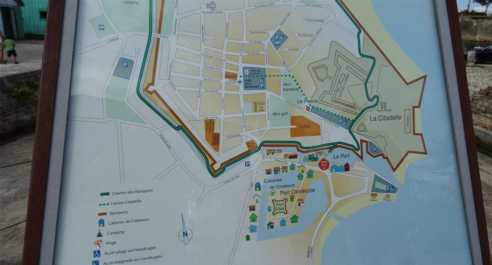 Le plan de la citadelle