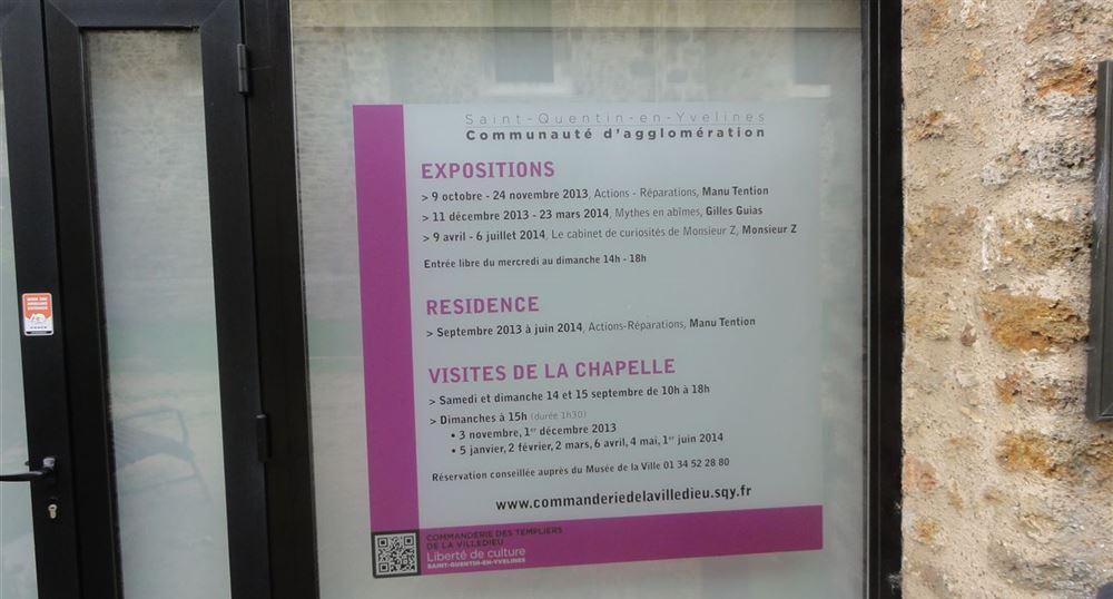 Le programme des expositions