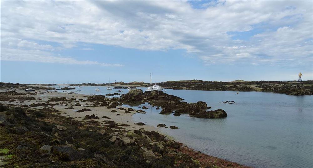 Vue de la Grande île