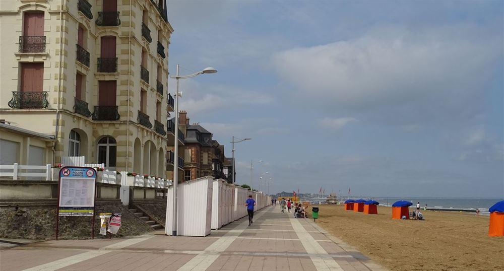 The promenade of Houlgate