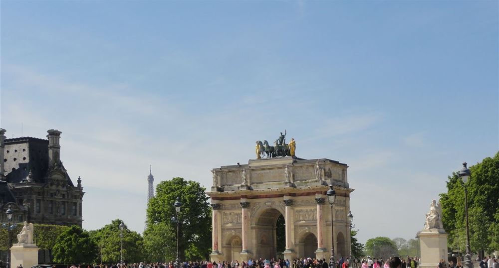 Arch of triumph of the Tuileries