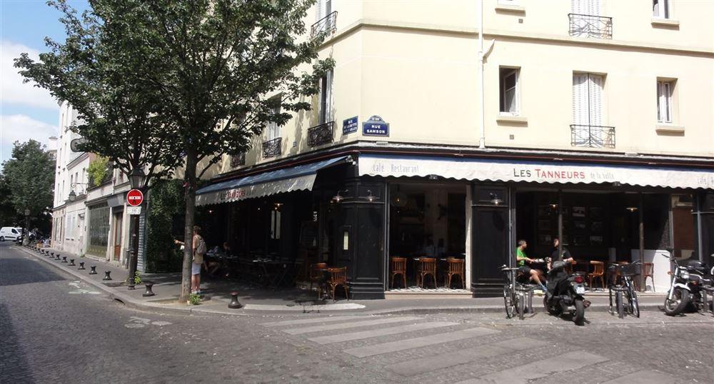 The area of the butte aux cailles in paris - Restaurant buttes aux cailles ...