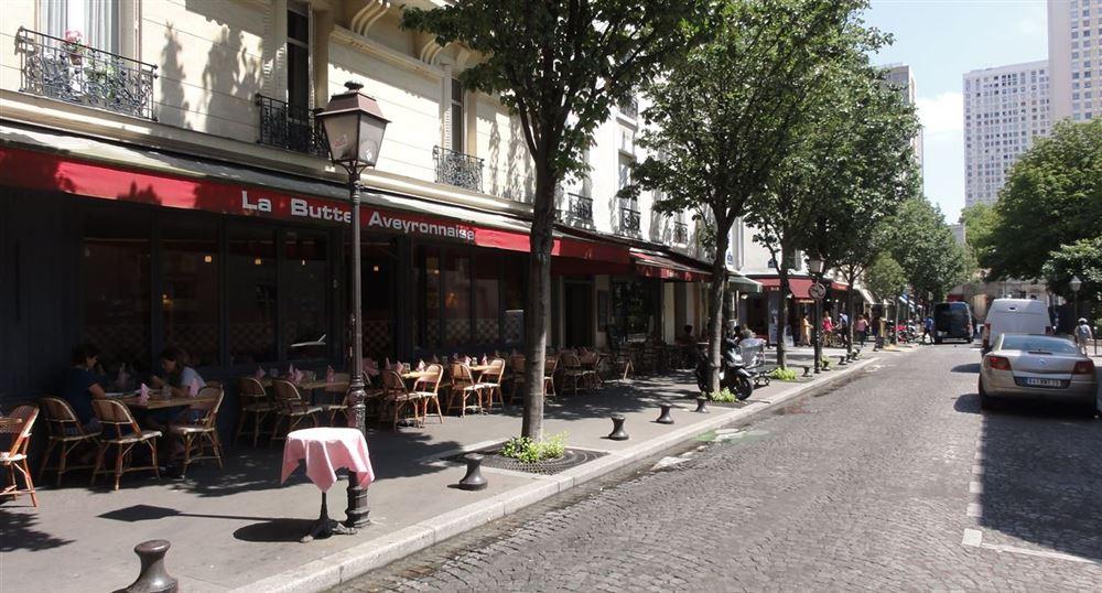 "The ""Butte Aveyronnaise"" restaurant"