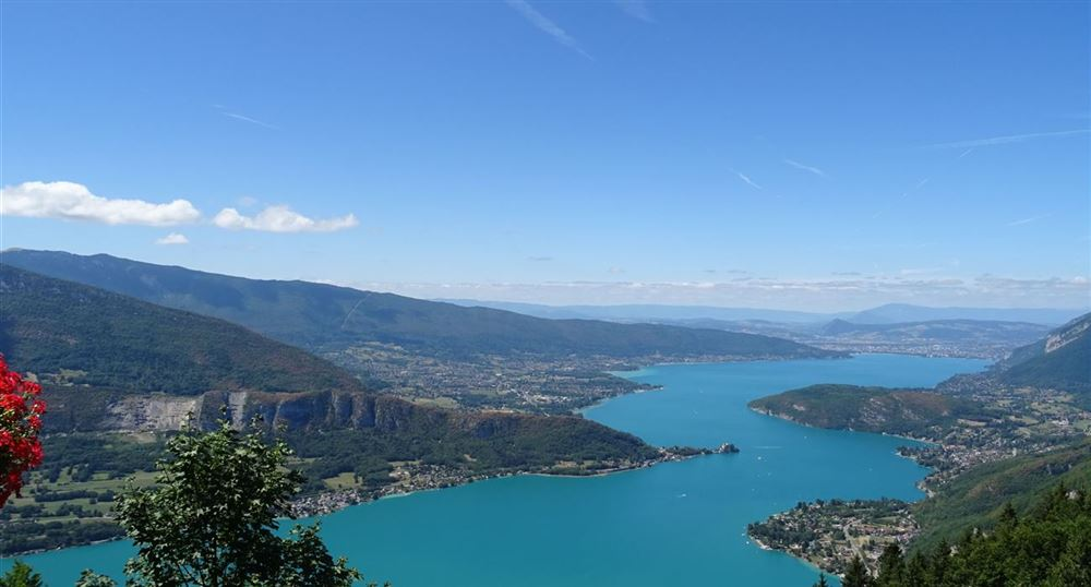 View of the lake of Annecy.