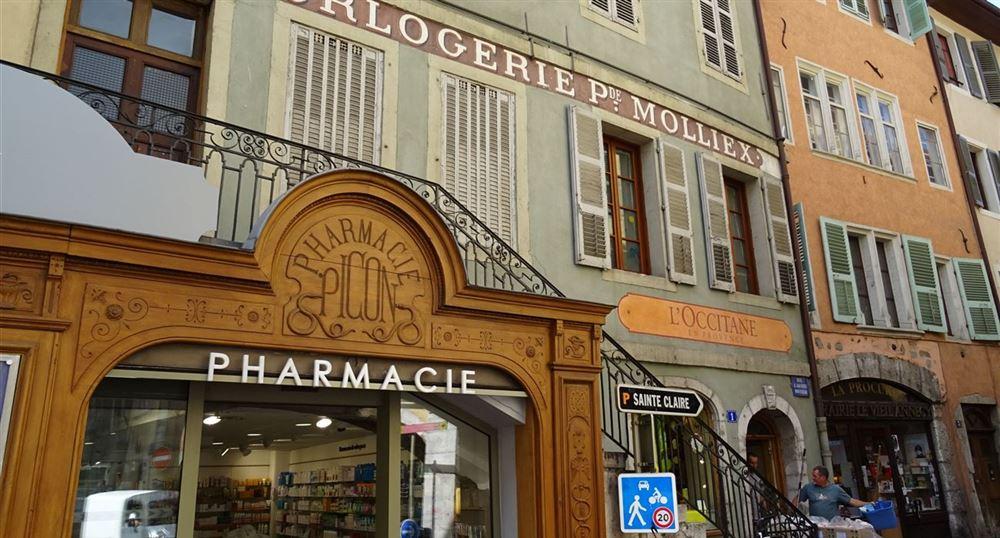 Old facades