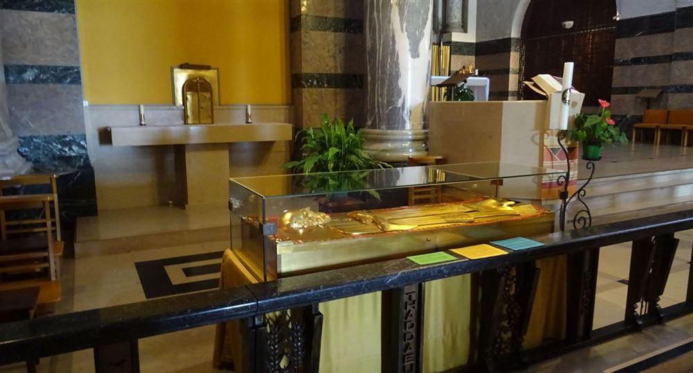 The relics of Saint Francis de Sales