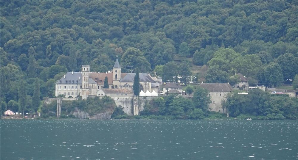 The Abbey seen from the Lake