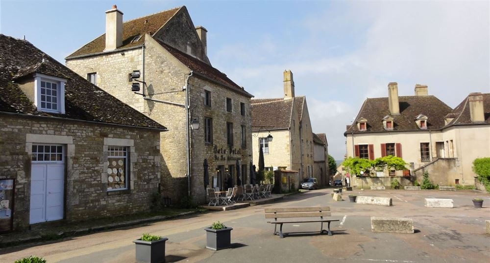 The village of Vézelay