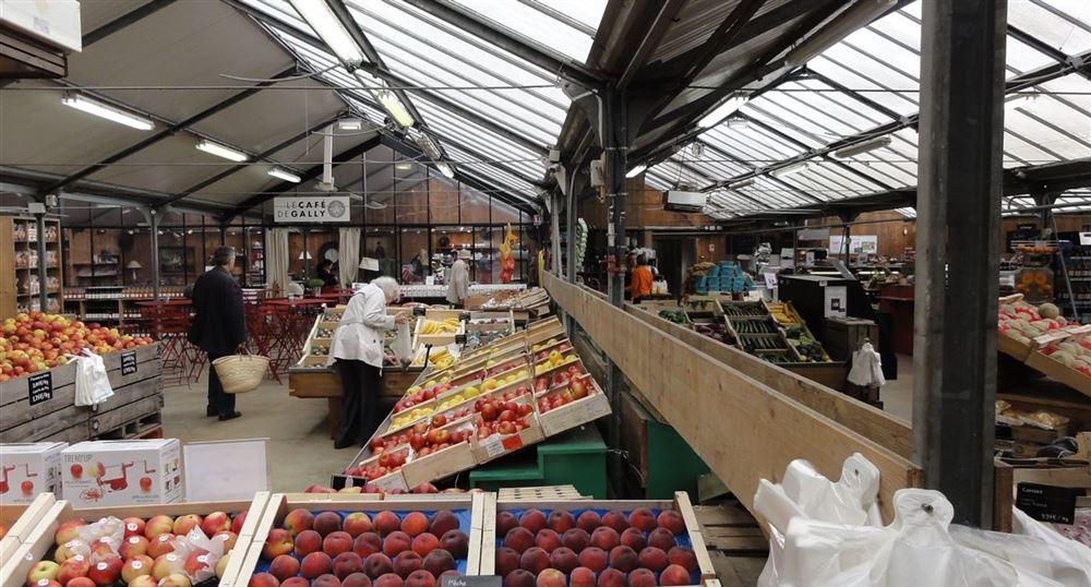 Le magasin de la ferme de Gally