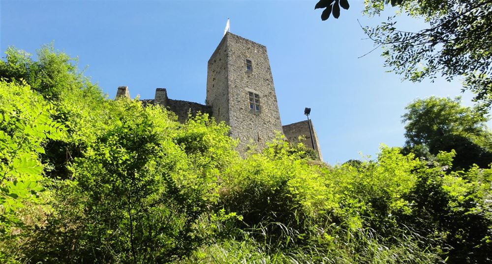 The castle of la Madeleine