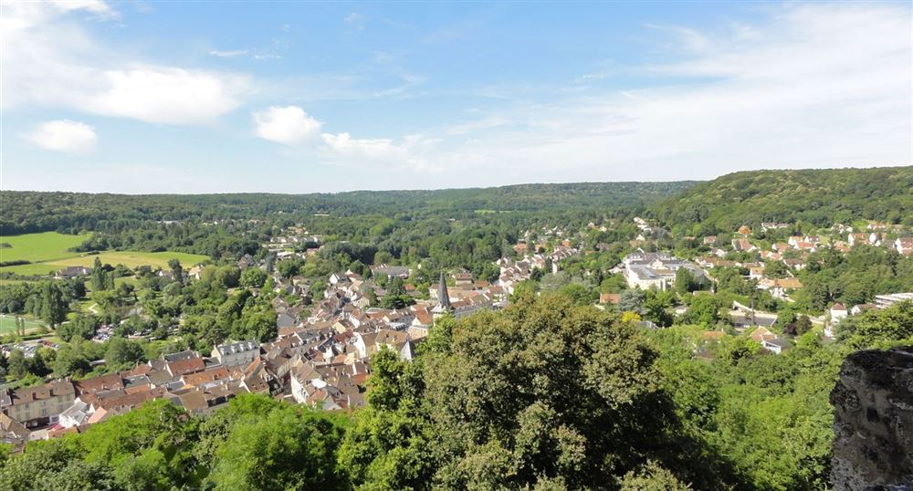 The town of Chevreuse