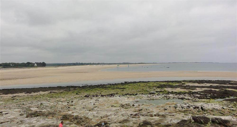 Vue sur le littoral