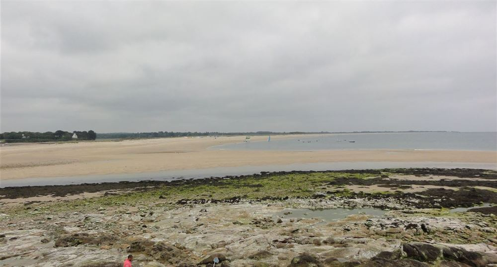 Panorama of the coastline