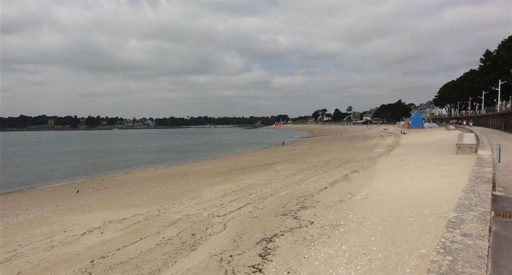 La grande plage du Trez