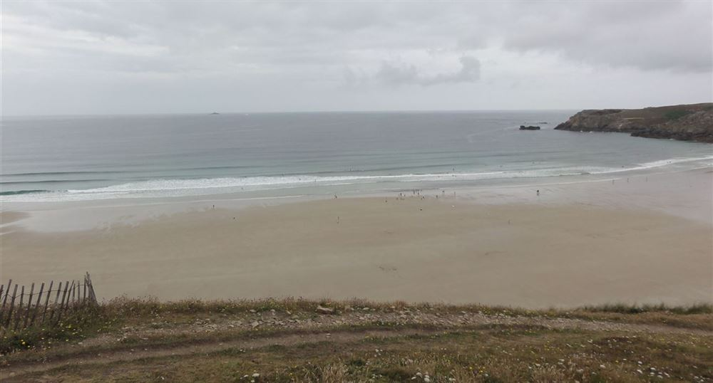 La plage de la baie