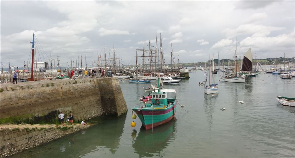 The port of Rosmeur