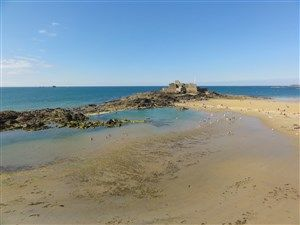 The ramparts of Saint-Malo