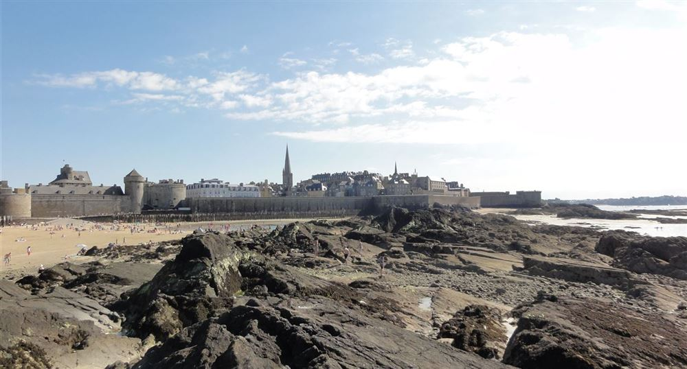 Panorama on Saint-Malo