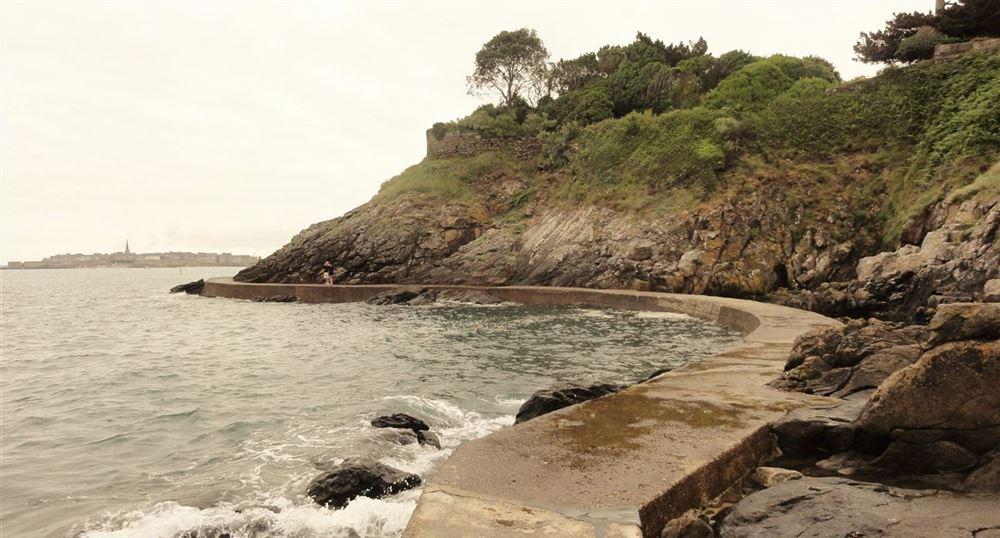 The path on the ocean