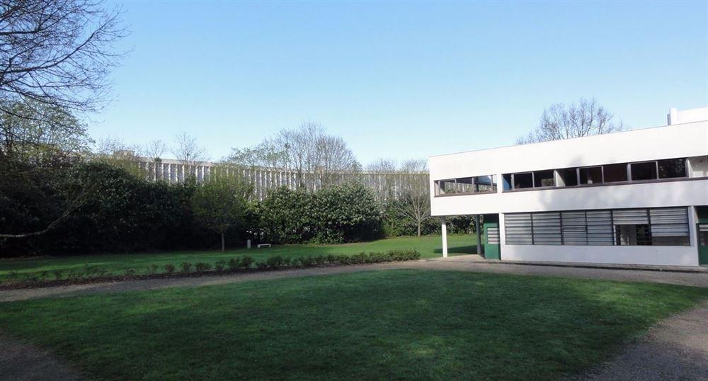 Le parc de la Villa Savoye