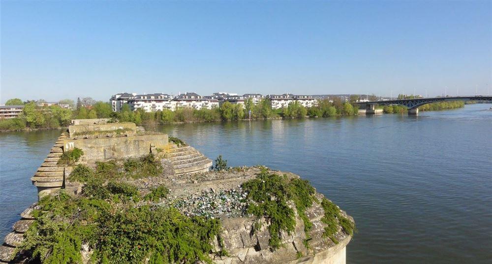 Le vieux pont de Poissy