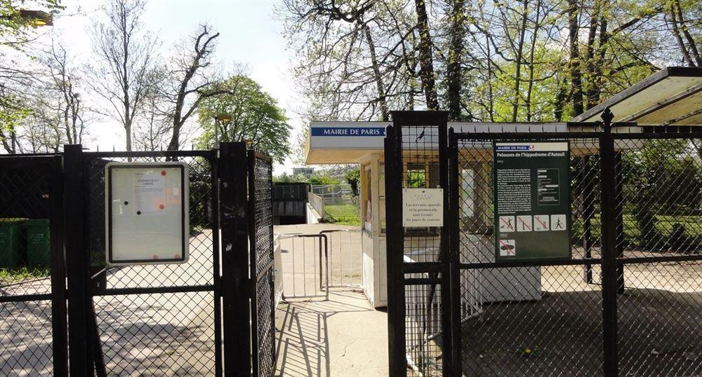 L'entrée du parc