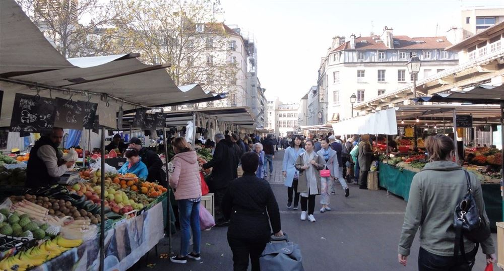Outside of the market
