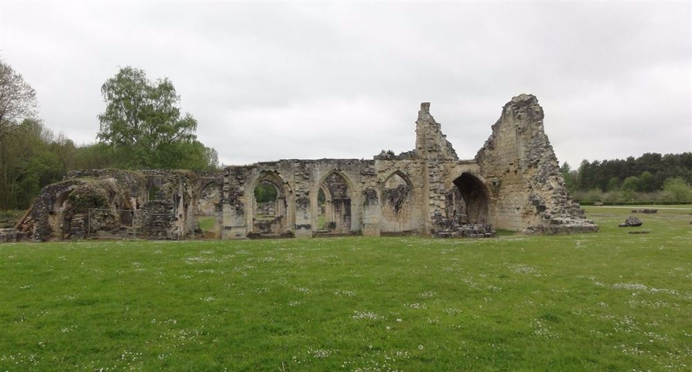 The Abbey of Vauclair