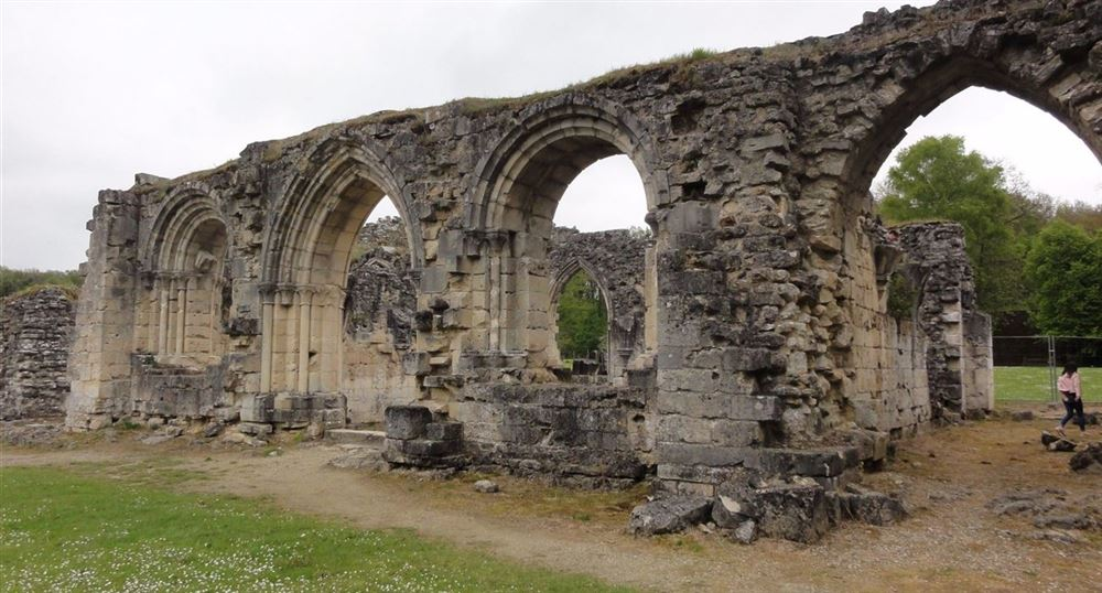 The remains of the Abbey