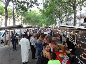 The Food Market in Paris