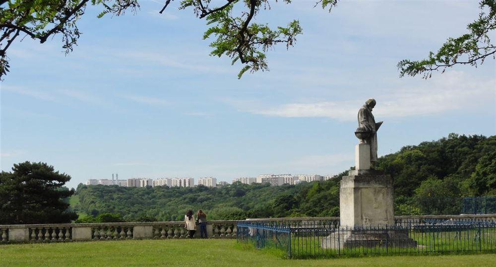La statue de Jules Janssen
