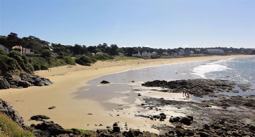 The beach of Sainte-Marguerite