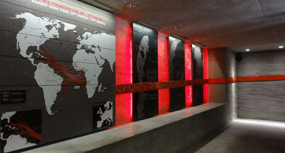 Les panneaux sur la traite