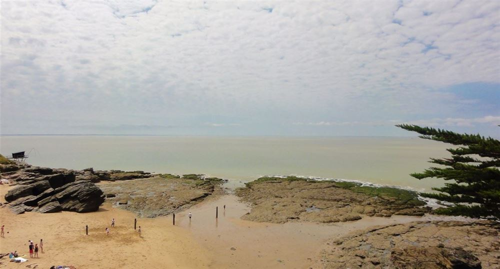 The beach of the Birochère