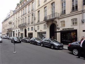 The luxury shops in Paris
