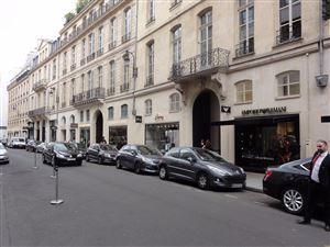 Les boutiques de luxe à Paris