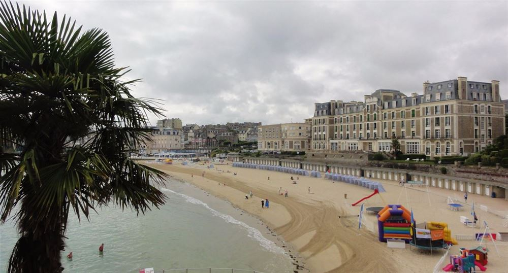 1. the coastal path in Dinard
