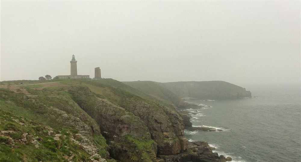 The lighthouse from the Cap Fréhel