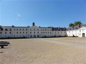The castle of La Verrerie in the Creusot in Burgundy
