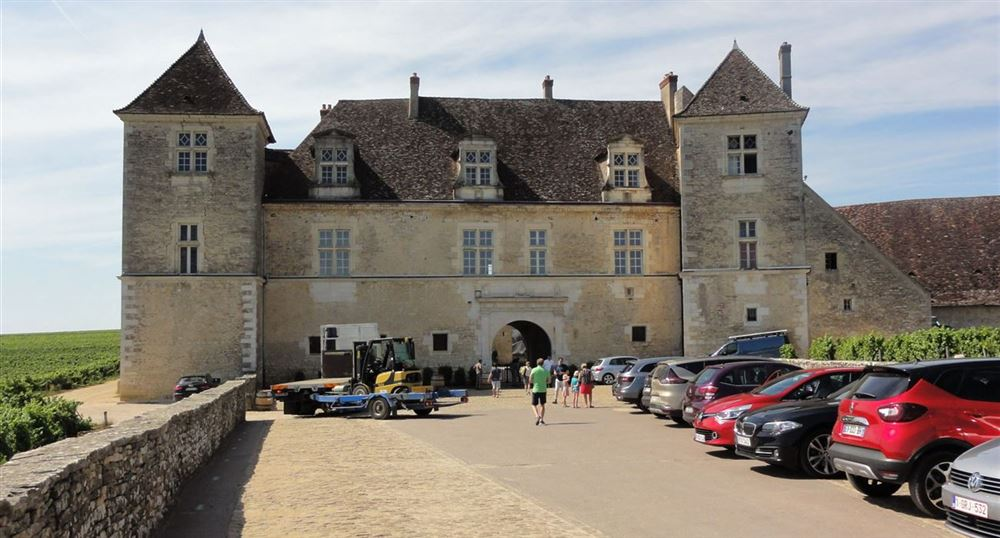The Clos de Vougeot Castle