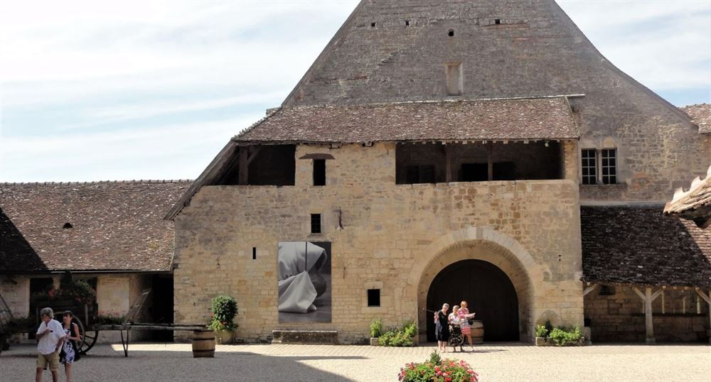 The Court of the Clos de Vougeot Castle