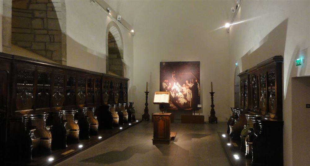 Reconstitution de la chapelle du monastère
