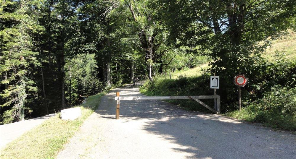 La route qui mène au monastère