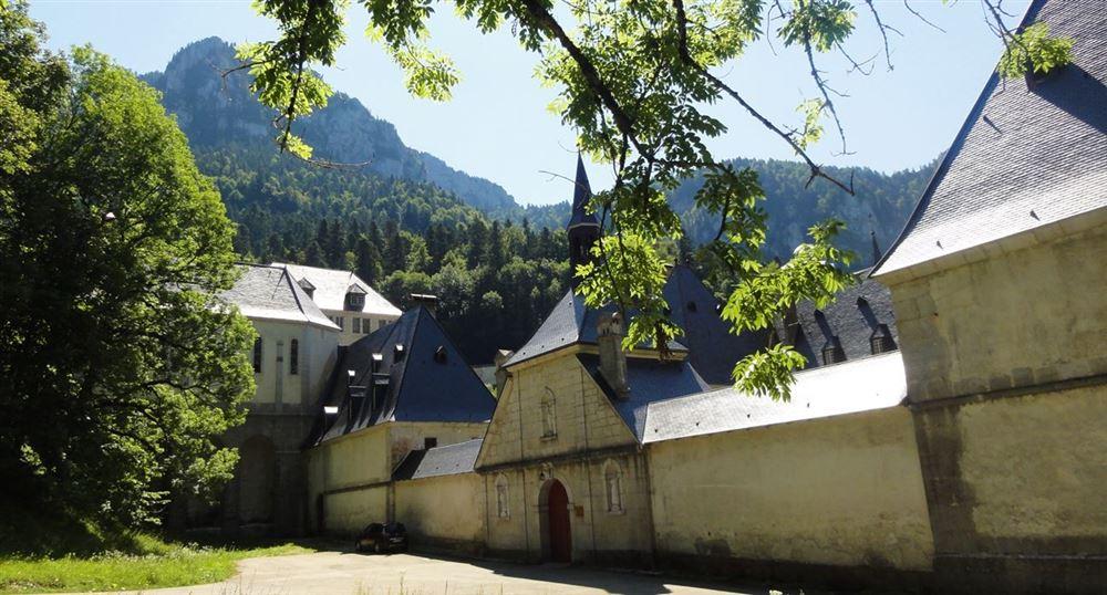 L'entrée du monastère de la Grande Chartreuse