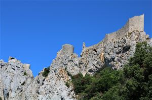 The castle of Peyrepertuse