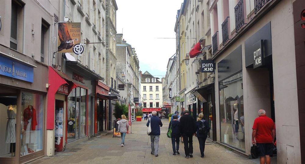 A pedestrian street