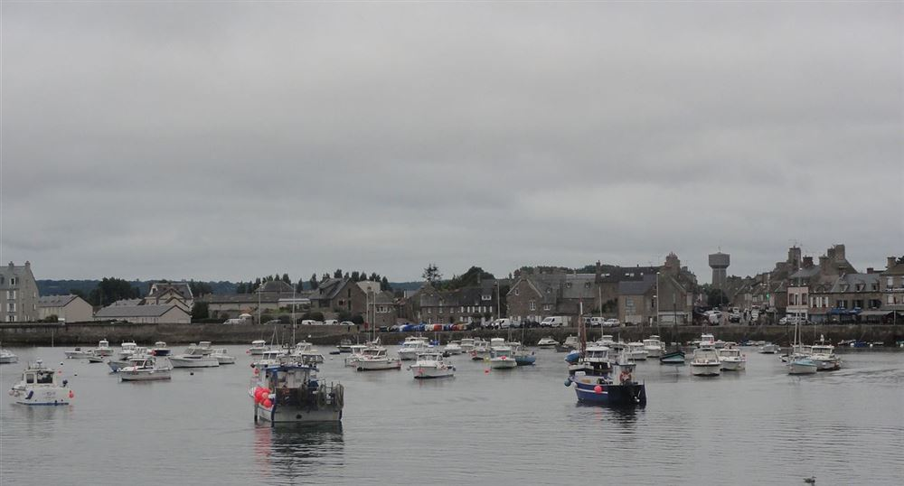 The port and the village of Barfleur