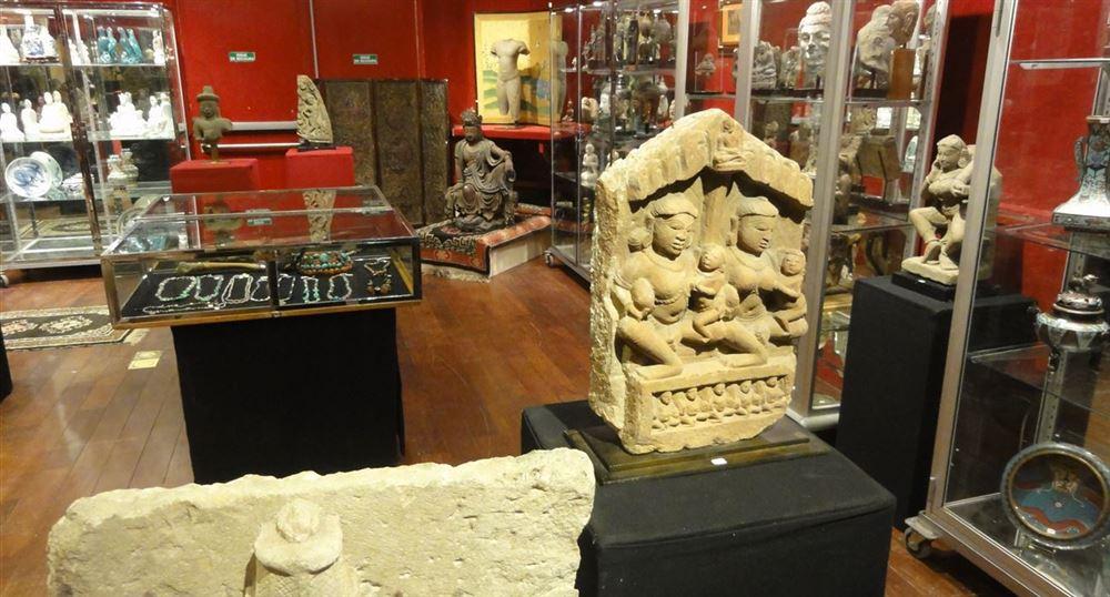 Les salles d'exposition de Drouot