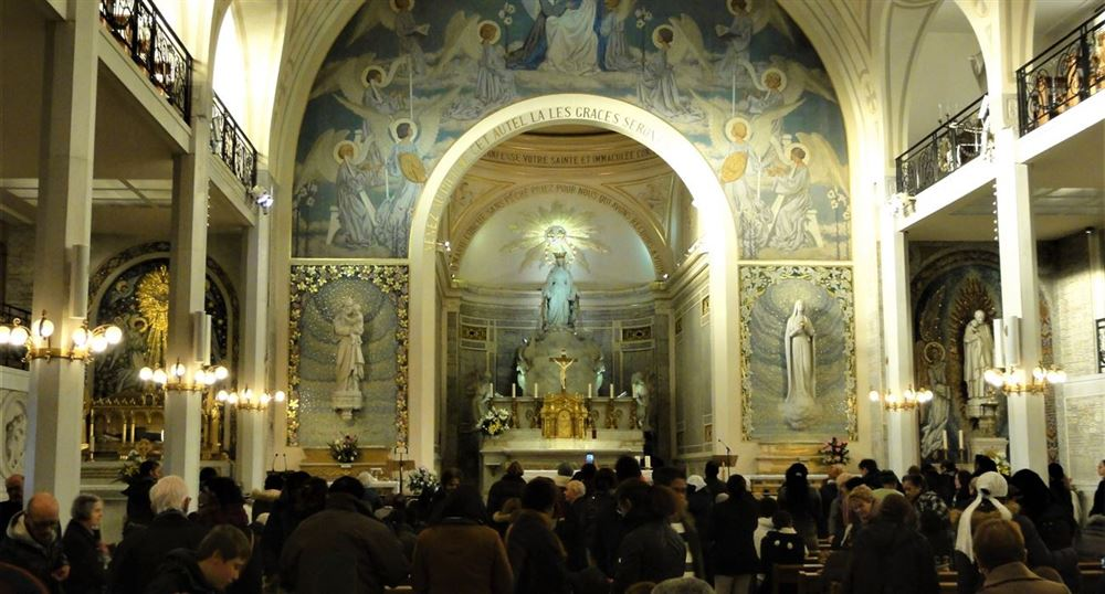 The Interior of the Chapel
